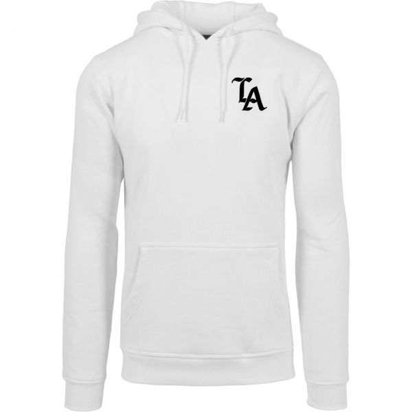 Mister Tee Fleece Hoody - LOS ANGELES TOKYO BERLIN LONDON