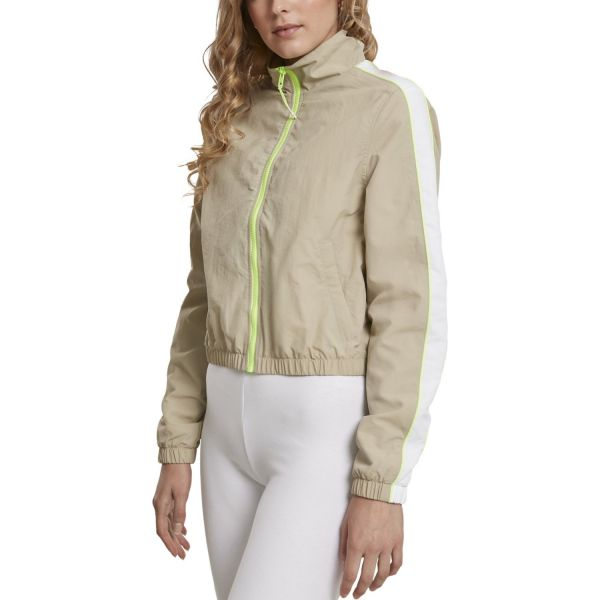 Urban Classics Ladies - VINTAGE Short Track Jacket