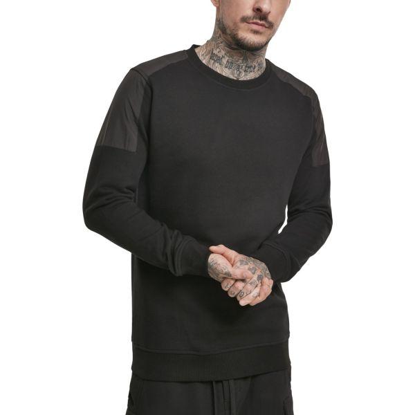 Urban Classics - Military Shoulder Crewneck Pullover noir