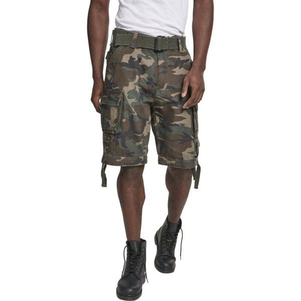 Brandit SAVAGE Vintage Worker Cargo Army Shorts beige