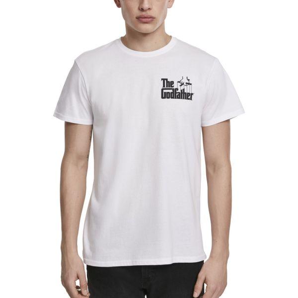 Merchcode Shirt - Godfather Wine Shirt weiß