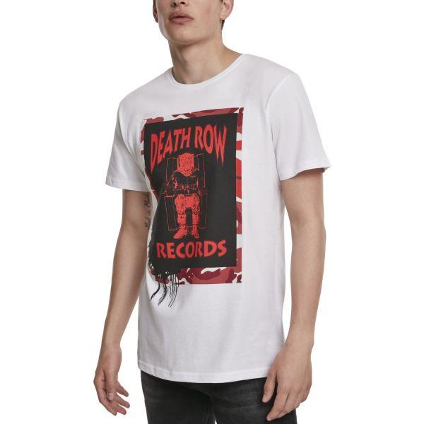 Merchcode Shirt - Death Row Records Camo weiß