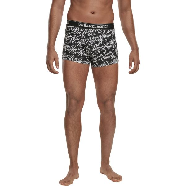 Urban Classics - Christmas Norwegian Boxer Shorts 3-pack