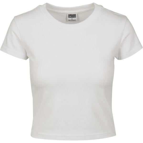 Urban Classics Ladies - Stretch Jersey Cropper Top