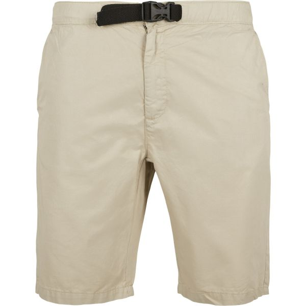 Urban Classics - Straight Leg Chino Shorts mit Gürtel