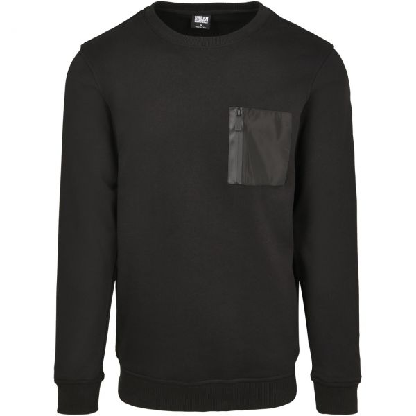 Urban Classics - MILITARY Army Crewneck Pullover Sweater
