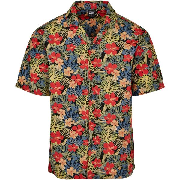 Urban Classics - HAWAII RESORT Sommer Shirt Floral Hemd