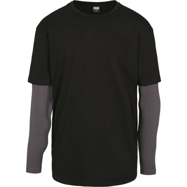 Urban Classics - Oversized Double Layer Longsleeve Shirt