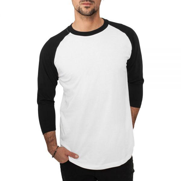 Urban Classics - RAGLAN 3/4 Longseeve Shirt
