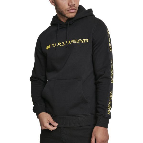 Wu-Wear Hip Hop Hoody - TAPE black