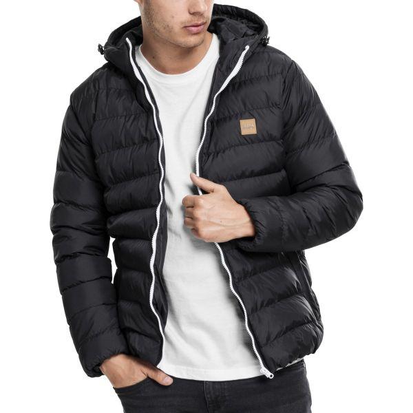 Urban Classics - BASIC BUBBLE Winter Jacket black