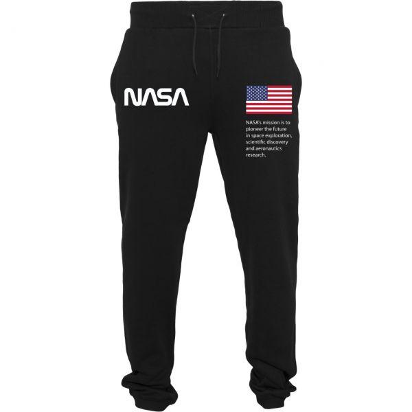 Mister Tee Heavy Sweatpant - NASA schwarz