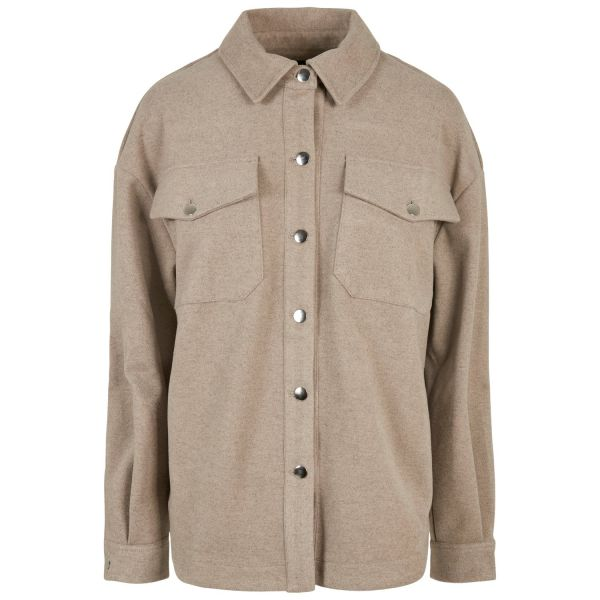 Urban Classics Ladies - Classic Oversized Overshirt Jacke