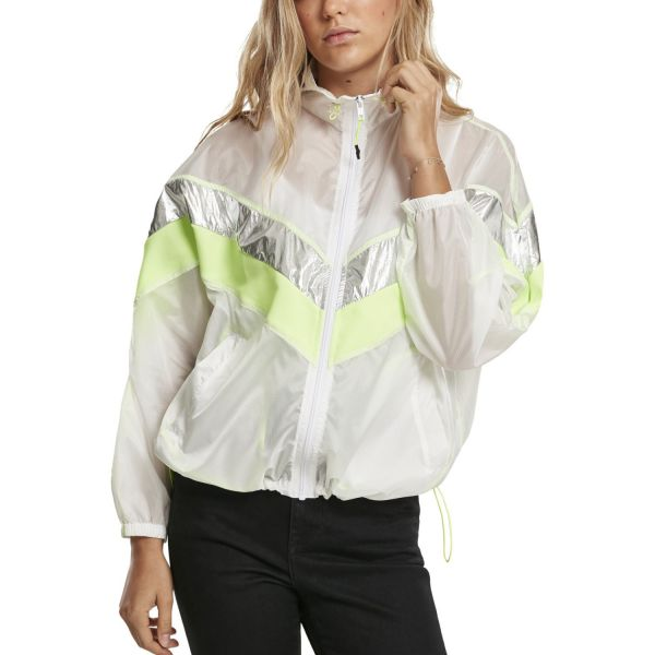 Urban Classics Ladies - 3-Tone Light Track Jacket