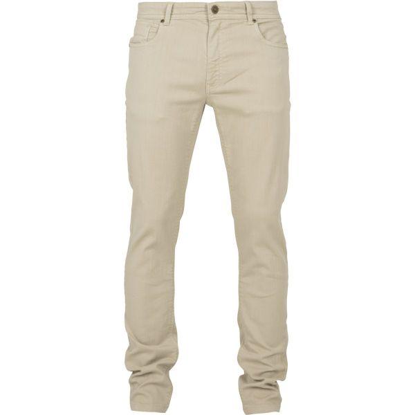 Urban Classics - Basic Stretch Twill 5 Pocket Pantalon olive