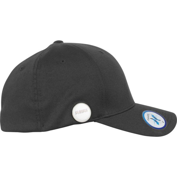 Flexfit Stretchable Golfer Magnetic Button Cap