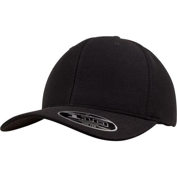 Flexfit 110 Cool & Dry Mini Pique Cap - white