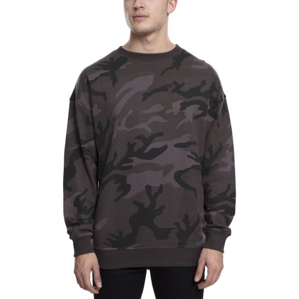 Urban Classics - Terry Sweatshirt Pullover camouflage