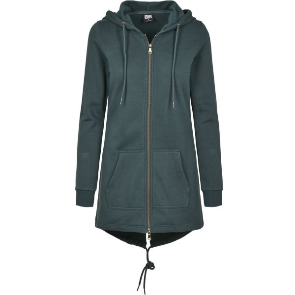 Urban Classics Ladies - SWEAT PARKA Zip Hoody dusty purple