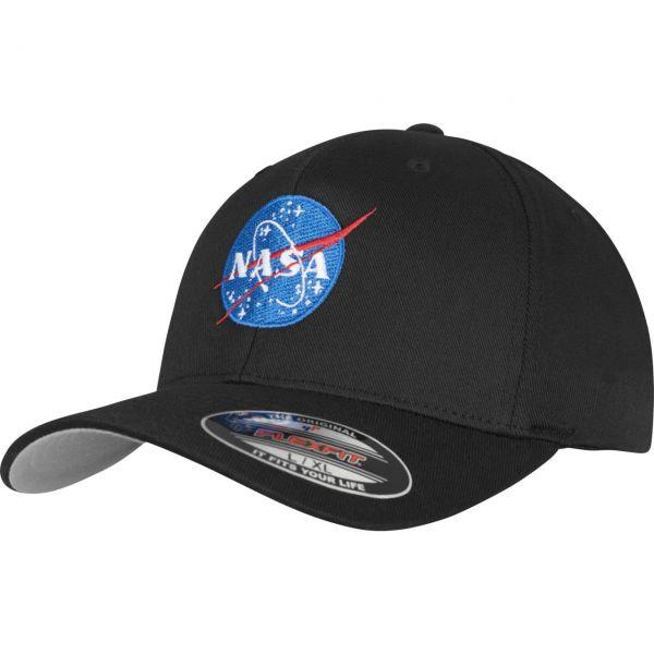 Mister Tee Flexfit Stretchable Cap - NASA schwarz