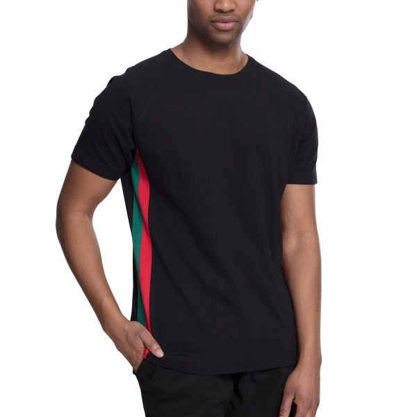 Urban Classics - Raglan Side Stripe Shirt
