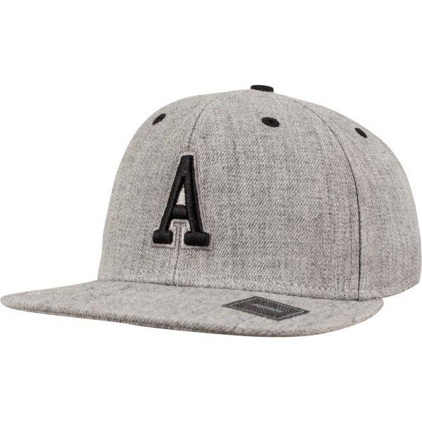 Urban Classics LETTER Snapback Cap - K heather grey M/L