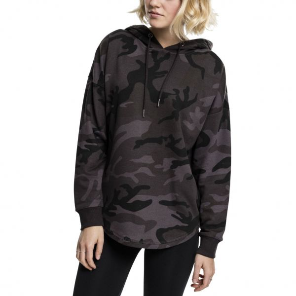 Urban Classics Ladies - Oversized Hoody rose camo