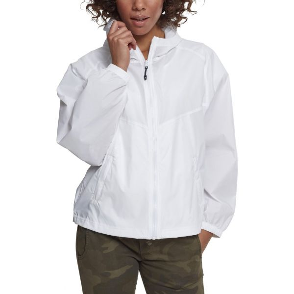 Urban Classics Ladies - Oversize Windbreaker Jacket olive