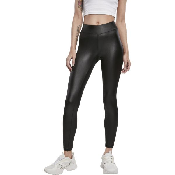 Urban Classics Ladies - Lederimitat Leggings