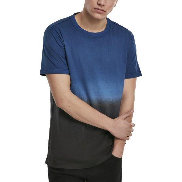 Urban Classics - DIB DYED Shirt navy / schwarz