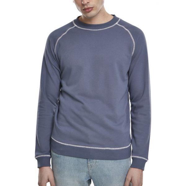 Urban Classics - Contrast Stitch Crewneck Pullover vintage