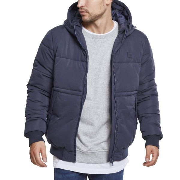 Urban Classics - Hooded Peach Puffer Winterjacke