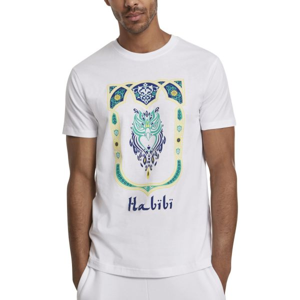 Mister Tee Shirt - Habibi Owl blanc