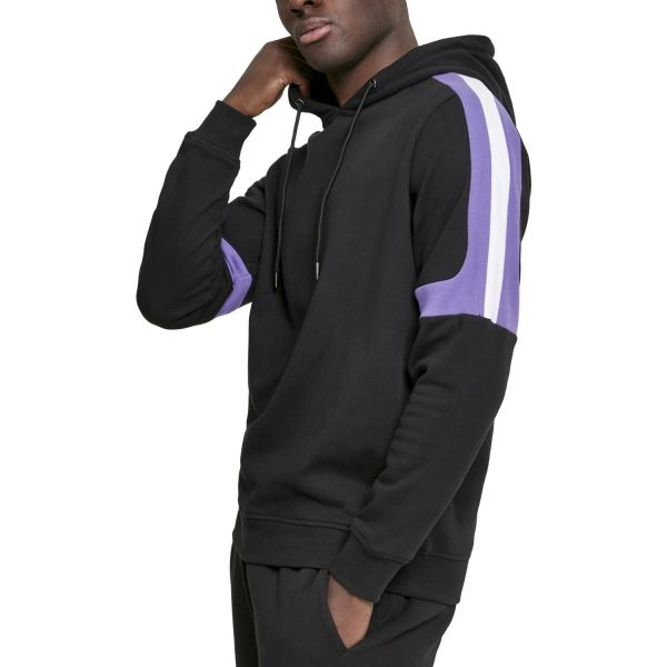Urban Classics - Terry Panel Hoody grey
