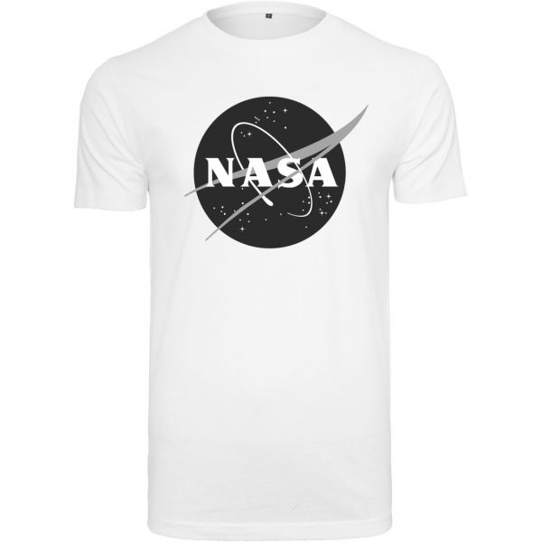 Mister Tee Shirt - NASA Insignia weiß
