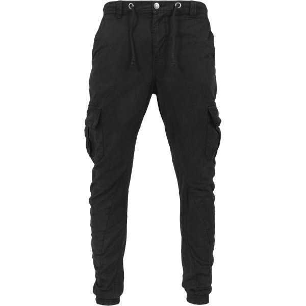 Urban Classics - CARGO Twill Jogging Pants bottle green