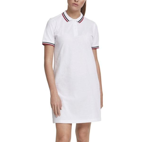 Urban Classics Ladies - Pique Polo Sommer Kleid