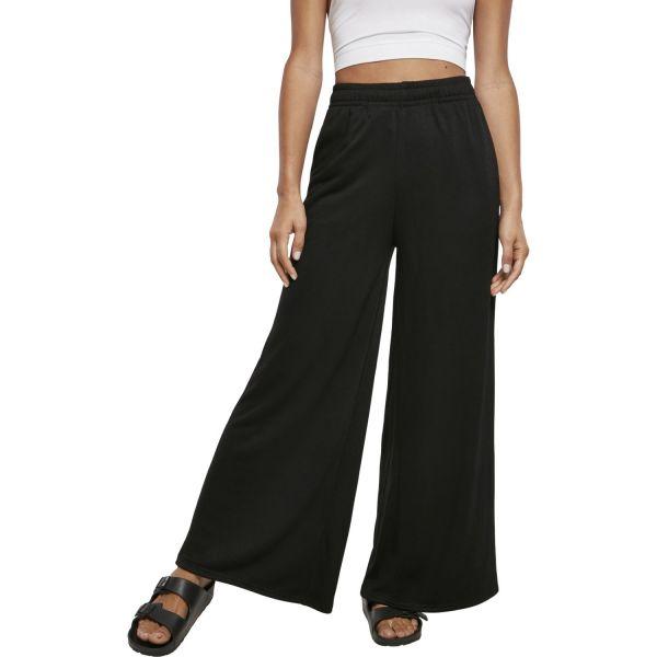 Urban Classics Ladies - Culotte Sweatpants Hose schwarz