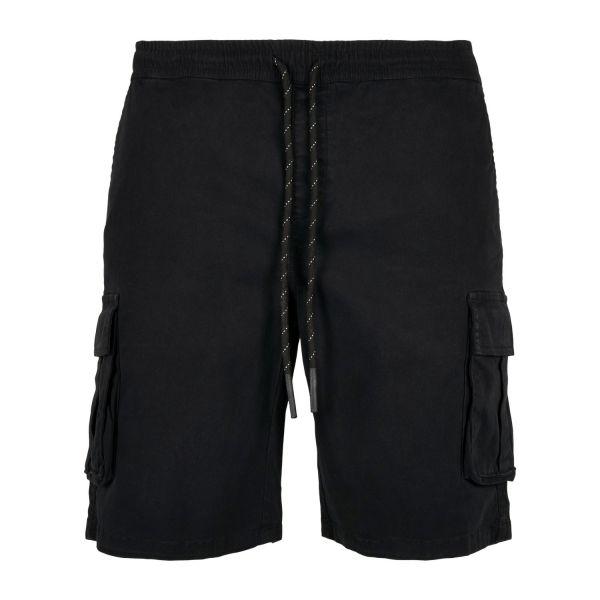 Urban Classics - Drawstring Cargo Stretch Shorts