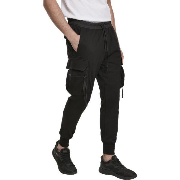 Urban Classics - Tactical Cargo Sweatpants schwarz
