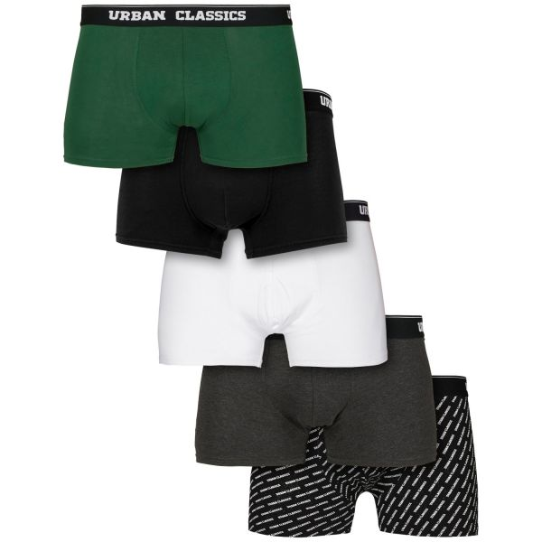 Urban Classics - Boxer Shorts 5er Pack
