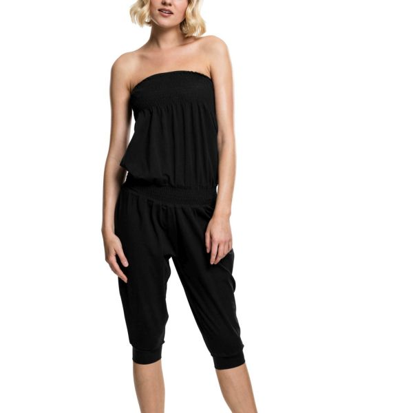 Urban Classics Ladies - TUBE CAPRI Jumpsuit schwarz