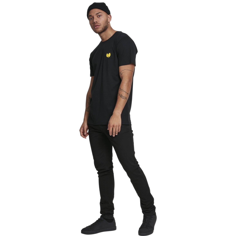 Wu Wear Hip Hop Shirt Front Back black