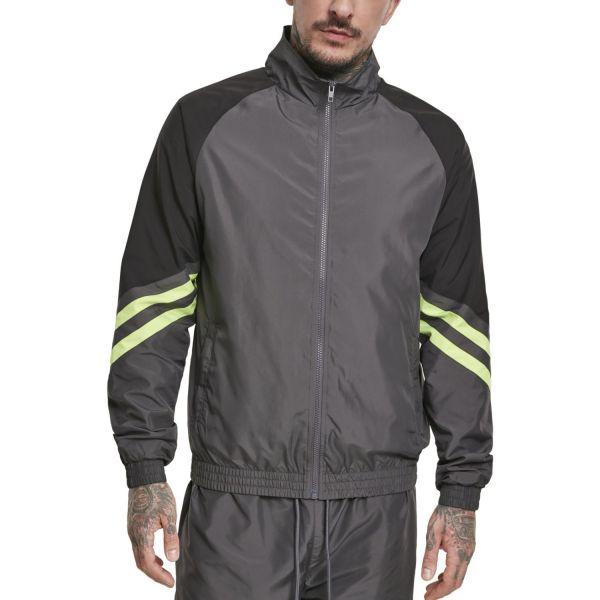 Urban Classics - Block Sport Track Jacket dark shadow