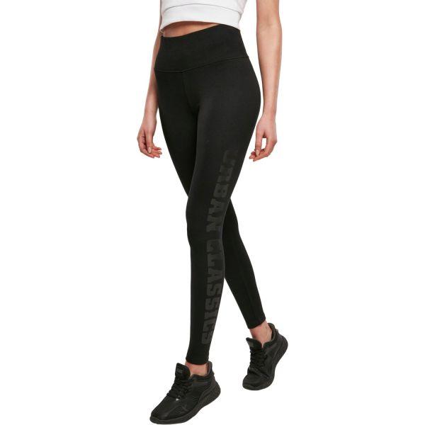 Urban Classics Ladies - High Waist Leggings schwarz