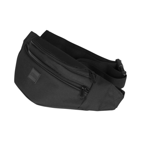Urban Classics - Shoulder Double-Zip Bag schwarz