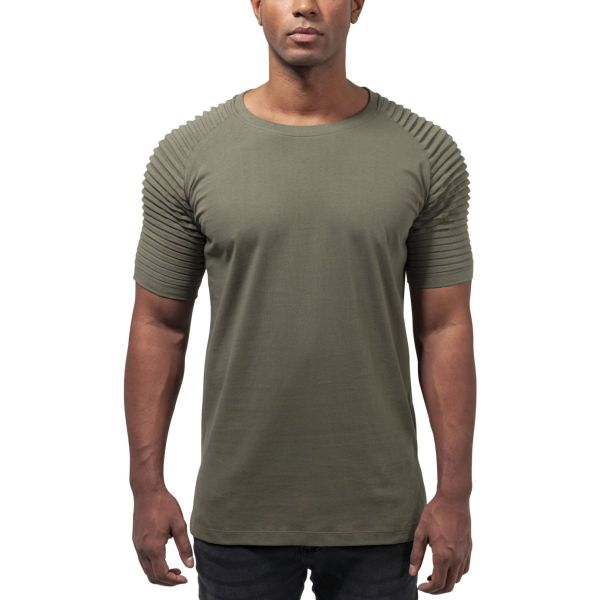 Urban Classics - PLEAT Raglan Long Shirt