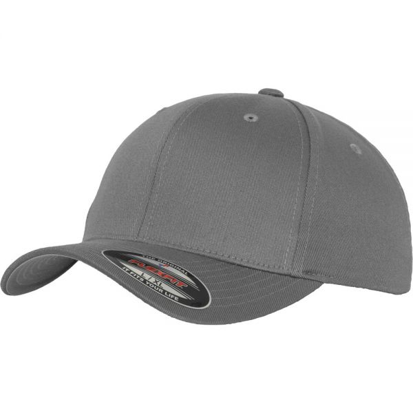 Flexfit WOOLY COMBED Stretchable Cap - silver