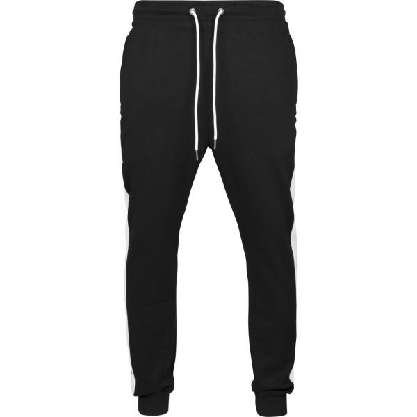Urban Classics - Interlock Track Sweatpants schwarz