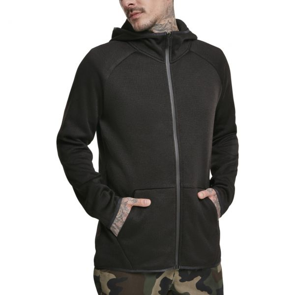 Urban Classics - KNIT Fleece Zip Hoody